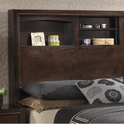 Voigt Storage Panel Bed Size: King