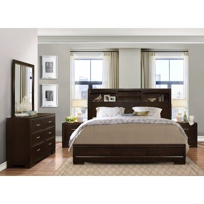 Voigt Platform 5 Piece Bedroom Set Size: King