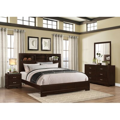 Voigt Panel 4 Piece Bedroom Set Size: Queen