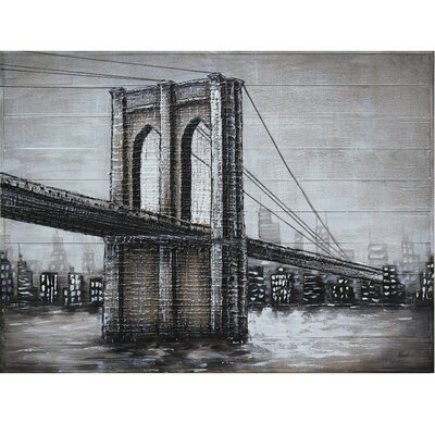 Highway to the City Painting Print on Wood BRYS7546 34489289