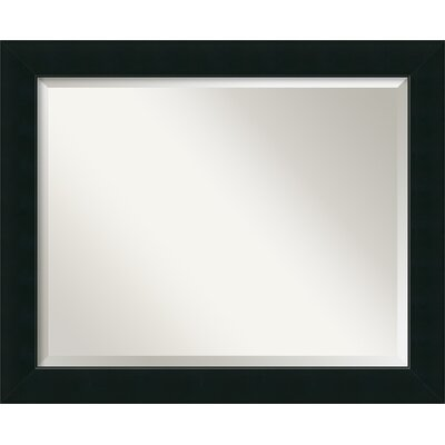 Graddy Black Wall Mirror Size: 27 H x 33 W x 1 D