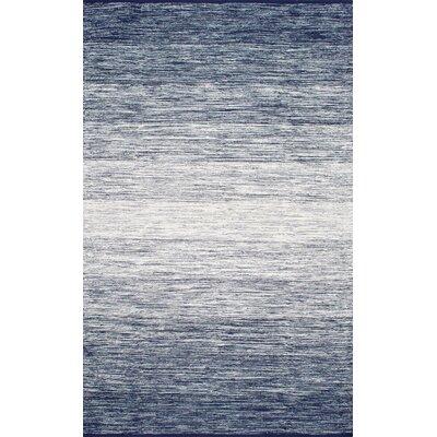 Algedi Blue Area Rug Rug Size: 86 x 116