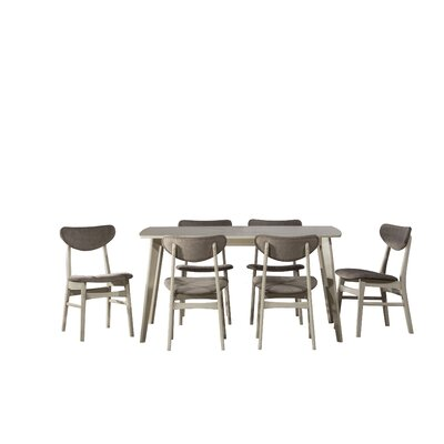 Hippocrates 7 Piece Dining Set