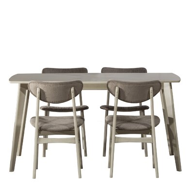 Hippocrates 5 Piece Dining Set