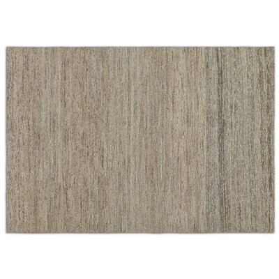 Hubbard Brown/Tan Solid Area Rug Rug Size: 8 x 10