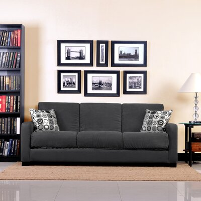 Tahoe Convert-a-Couch Sleeper Sofa Color: Grey