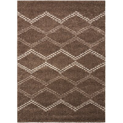 Rushmere Latte Area Rug Rug Size: Rectangle 5 x 7