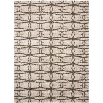 Rushmere Cream Area Rug Rug Size: Rectangle 5 x 7