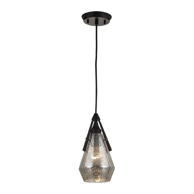 Second Avenue 1-Light Mini Pendant Finish: Oil Rubbed Bronze