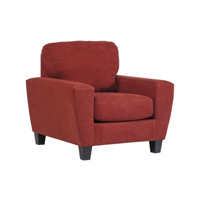 Metsahovi Armchair Color: Crimson