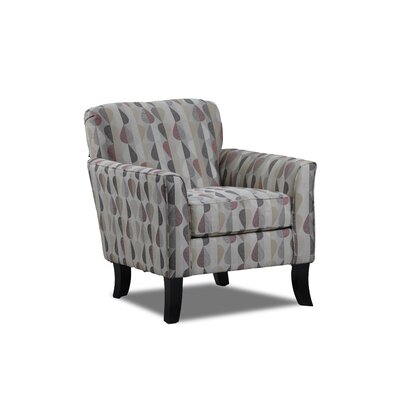 Steinber Simmons Upholstery Club Chair Color: Java