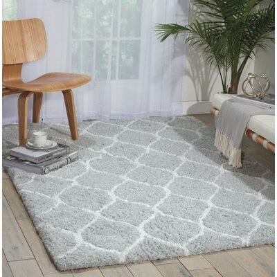 Brayden Studio North Moore Hand-Tufted Mint Area Rug