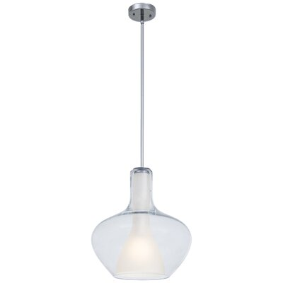 Irene 1-Light Schoolhouse Pendant