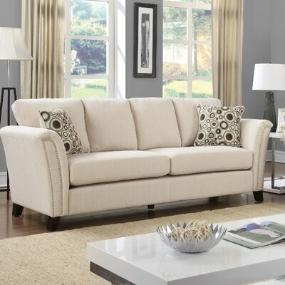 Pickens Sofa Upholstery: Ivory
