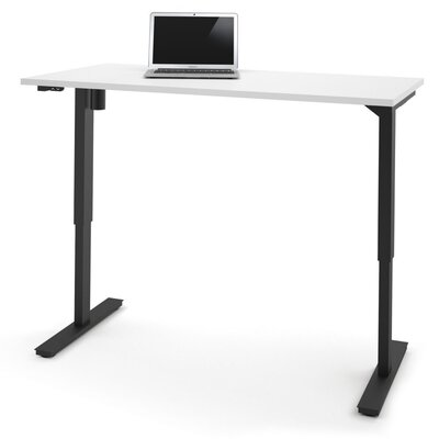 Fridley Height Adjustable Training Table Size: 45 H x 60 W x 30 D, Tabletop Finish: White