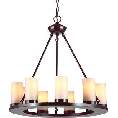Carwile 9-Light Drum Chandelier Bulb Type: 60 W A-19 Medium