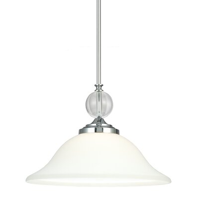 Astoria 1-Light Inverted Pendant Bulb Type: 100W A19 Medium