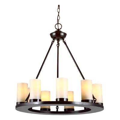 Carwile 9-Light Candle-Style Chandelier