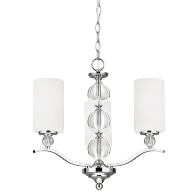 Dugas 3-Light Mini Chandelier