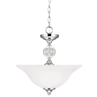 Dugas 2-Light Bowl Pendant
