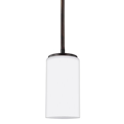 Haworth 9W 1-Light Mini Pendant Finish: Burnt Sienna