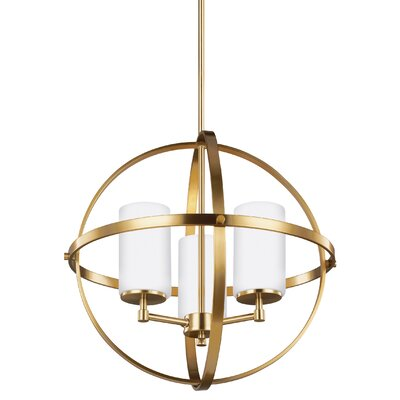 Haworth 3-Light Mini Chandelier