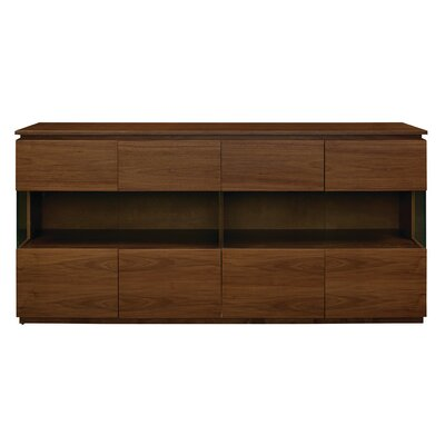 Simmons Sideboard Color: Walnut