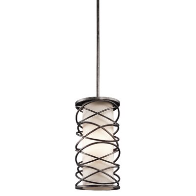 Metropolitan 1-Light Foyer Pendant Size: 16.25 H x 7.75 W