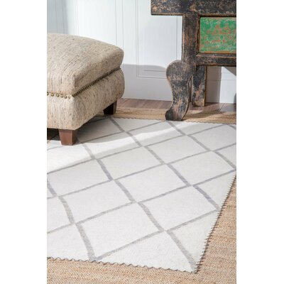 Chavez Ivory Area Rug Rug Size: Rectangle 5 x 8