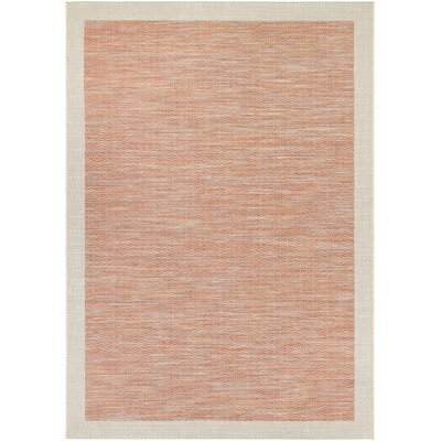 Loranger Orange Indoor/Outdoor Area Rug Rug Size: Rectangle 67 x 96