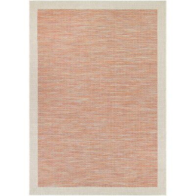 Loranger Orange Indoor/Outdoor Area Rug Rug Size: Rectangle 53 x 76