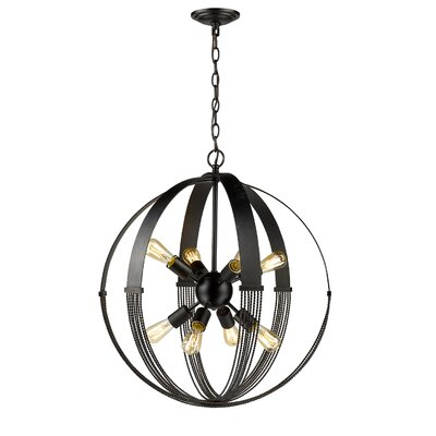 Branscome 8-Light Foyer Pendant