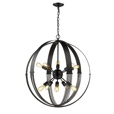 Branscome 10-Light Foyer Pendant