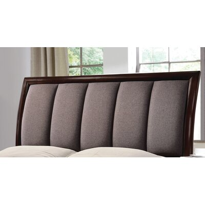Elton Upholstered Sleigh Headboard Size: Queen