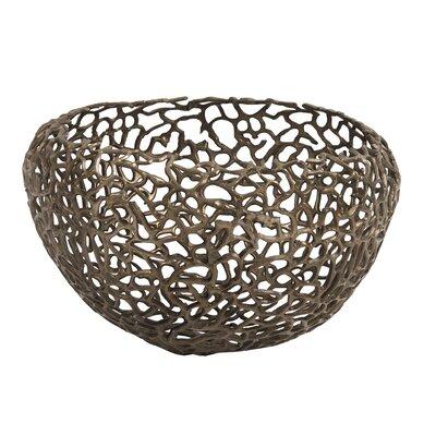 Brayden Studio Metal Nest Basket