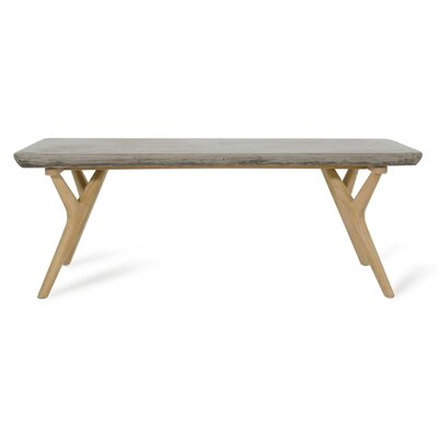 Lipscomb Coffee Table Base Color: Natural