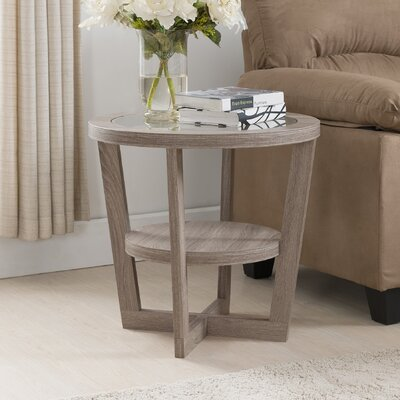 Bowlby End Table Finish: Light Oak