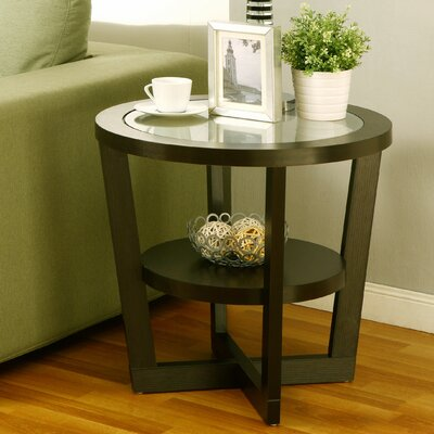 Bowlby End Table Finish: Brown