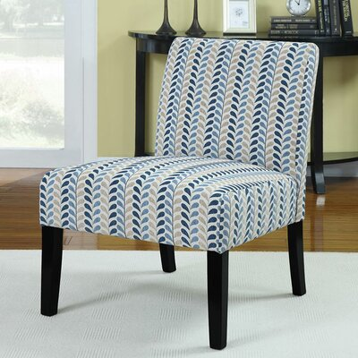 Perillo Linen Slipper Chair