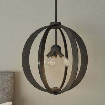 Knott 5-Light Globe Pendant