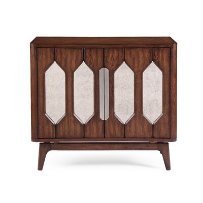 Brayden Studio Meghans 2 Door Hall Cabinet