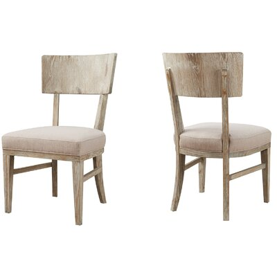 Belmar Side Chair with Upholstered Seat