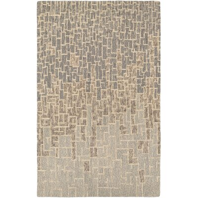 Venuti Rosalyne Hand Woven Beige/Brown Area Rug Rug Size: Rectangle 9'6