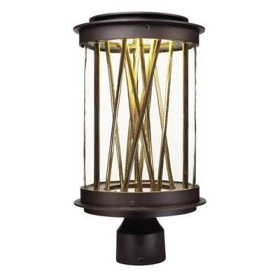 Brayden Studio Guerrera Outdoor 1-Light LED Post Lantern