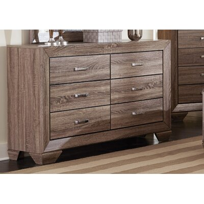 Gutierrez 6 Drawer Dresser