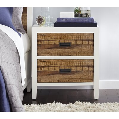 Haag 2 Drawer Nightstand