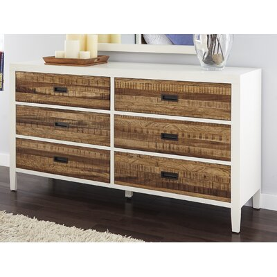 Bendigo 6 Drawer Dresser