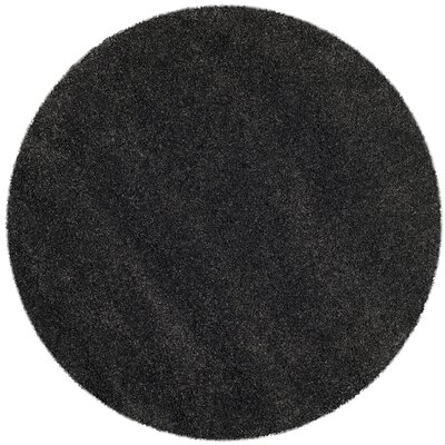 Buster Dark Gray Area Rug Rug Size: Rectangle 2 x 4