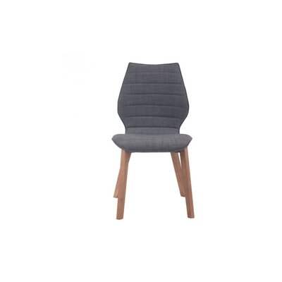 Moores Side Chair Finish: Graphite