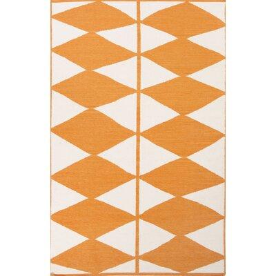 Disalvo Yellow & Ivory Geometric Area Rug Rug Size: 8 x 11